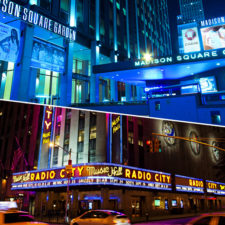Madison Square Garden and Radio City
